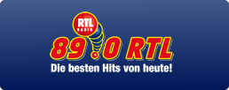 89.0 RTL spielt die besten Hits von heute!